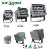 중국 공장 12W/24W/40W LED 옥외 빛 LED 투광램프