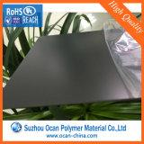 Feuille de plastique noir mat PVC pour l'impression offset UV