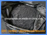 El polvo de grafito natural de Carbono medio