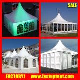 Het openlucht Profiel van de Tent van het Aluminium van het Huwelijk van de Luifel van de Pagode van de Mensen van Gazebo 100-150