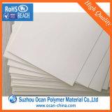 Подгонянный лист PVC размера цвета 4*8 высоко лоснистый Offwhite твердый