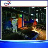 Cortadora resistente de llama del plasma del CNC para el tubo/el tubo grandes del diámetro