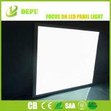 사각에 의하여 중단되는 천장 편평한 위원회 차가운 백색 최고 밝은 24W LED 위원회 빛 600X600mm