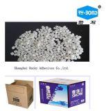 熱い溶解の付着力の微粒の工場価格を詰めるボール紙のための熱い溶解の接着剤