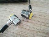 Fechamento do cabo do portátil da combinação para o fechamento de aço seguro do portátil de Digitas para cacifos