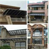 Pabellón de la puerta y toldos/toldo de aluminio decorativos de la ventana