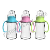 Бутылка младенца качества еды PP с ручкой и регулярно шеей 210ml для подавая младенца