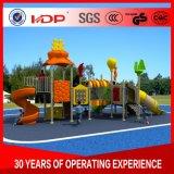 Детский пластиковый открытый детская площадка ограждений слайд материальных средств в Южной Африке