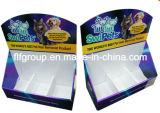 Caixa de exposição de papel de caixa personalizada para cartão de papelão