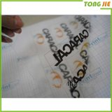Produits de qualité Clear Plastic Label Stickers Printing