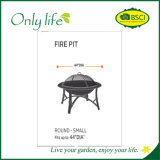 Onlylife Oxford pratique barbecue meubles de patio ronde/grill couvrir