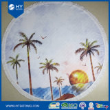 Custom печатается за круглым столом на пляже полотенце