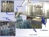 회전하는 5개 갤런 병 충전물 기계