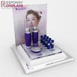 Compteur personnalisé Tableau acrylique de lotion de beauté et cosmétiques Présentoir