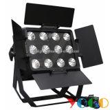 IP65 Waterproof Outdoor 12X15W RGB 3in1 СИД Stage PAR Light