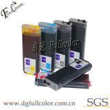 HP T1100, T1100PS, T610, T790, T1300, T2300, T1120, T770 의 T710plotter 인쇄 기계를 위한 칩을%s 가진 대량 다시 채울 수 있는 잉크 카트리지