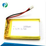 batteria del polimero di alta qualità di 3.7V 1000mAh