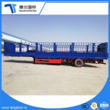 3개의 차축 말뚝 30-50 톤 또는 담 또는 선반 바디 또는 반 프레임 트레일러