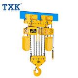 15t Txkの単一の速度のクレーンのための電気チェーン起重機