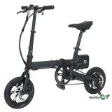 Mini E bici piegante nera di colore F1