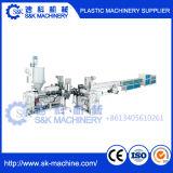 Línea de producción de tubería de PVC máquina extrusora de plástico