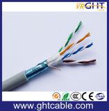 Для использования внутри помещений Cat5/ Cat5e FTP 24AWG медный проводник кабель локальной сети