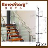Asta della ringhiera di vetro di alluminio del balcone dell'acciaio inossidabile della balaustra 304