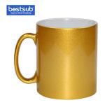 Bestsub 10ozの金の光っている陶磁器のマグ(BE10JZ)