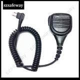 Motorola Cp040 Cp200のための防水遠隔スピーカーのマイクロフォン