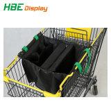 Tecido dobrável Carrinho de Compras de supermercado Bag reciclado