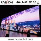 Bicicleta P3.9 interior em cores de tela de LED para eventos de promoção