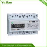 Medidor Watt-Hour Multi-Rate com padrão de instalação do trilho DIN 3*230V