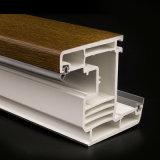 Profili della finestra del PVC laminati colore bianco senza piombo