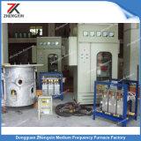 forno di fusione di induzione di frequenza di 200kg Meduim per rame/fusione d'acciaio