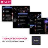 Androider Fernsehapparat-Kasten mit IPTV Suscription für Chips 1GB Brasilien-Amlogic S905X RAM 8 GBs ROM-Unterstützung WiFi, 4K, 1080P HD.