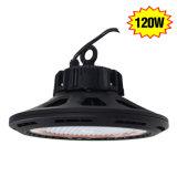 UFO 120W de alta Actualización de la luz de la Bahía de LED de 400 vatios de luces de taller de almacén 90 grados 6000K