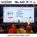 P2.6, P2.98, P3.91 de haute précision à l'intérieur du panneau Affichage LED de location pour des événements