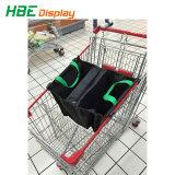 Design OEM tecido laminado Saco de carrinho de compras