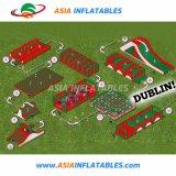 Parcours à obstacles gonflables en PVC fait sur mesure pour l'amusement de jeu de sport
