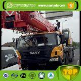 SanyブームザンビアStc120cの12トンの移動式油圧クレーン