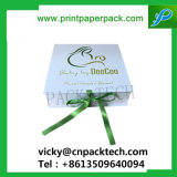 Maat polijst Vakje van het Karton van het Document van de Gunsten van het Huwelijk van het Vakje van de Verpakking van de Gift van de Juwelen van het Lint het Multi