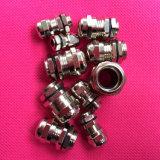 Pg7 Pg9 Pg11のニッケルによってめっきされる真鍮の金属防水ケーブル腺