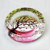 結婚式の記念品のギフトのための新しいデザイン骨董品のパイナップル水晶灰皿