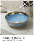 Moderne populäre Entwurfs-Farben-Wäsche-Bassin-Badezimmer-Eitelkeit