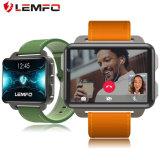 Telefoon van het Horloge van de Batterij 1200mAh van Lemfo Lem4 de PRO Grote Slimme met het VoorHorloge van de Vraag van Bluetooth van de Camera Video met GPS het Horloge van de Geschiktheid