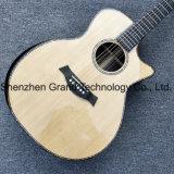 Haut solide d'ormeaux réel de l'Ébène poutre 914 guitare électro-acoustique