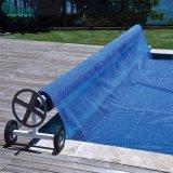 Vente à chaud en acier inoxydable de couverture de piscine rouleau réglable