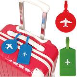 Étiquette de bagage en PVC souple en caoutchouc avec logo personnalisé pour les souvenirs de voyage