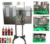 Macchina di coperchiamento di riempimento di lavaggio gassosa automatica della bibita analcolica della bottiglia di vetro