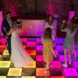Guangzhou Fairy RVB de mariage de piste de danse avec LED 3D pour la vente de feux de piste de danse
